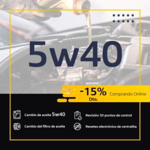 Promoción mantenimiento del coche en Madrid
