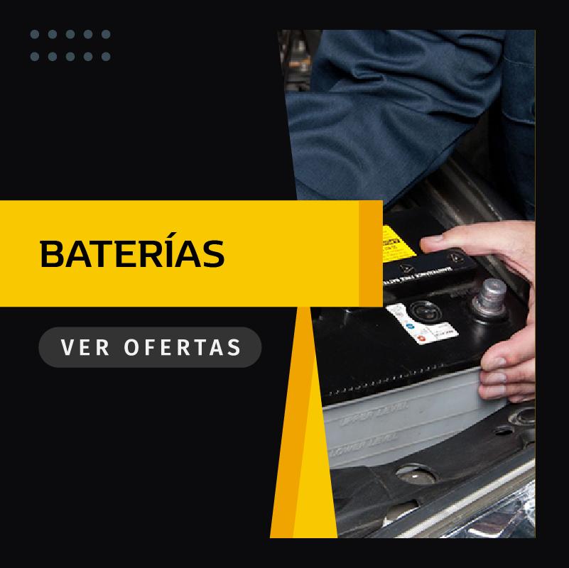 Oferta de baterías para el coche en Madrid
